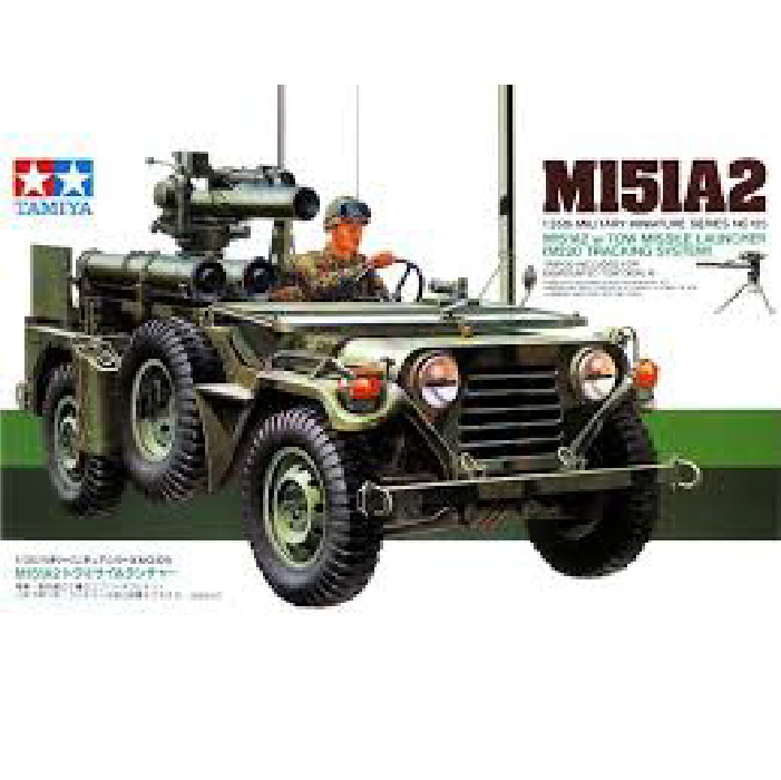 1/35 M151A2 w/Tow Missile