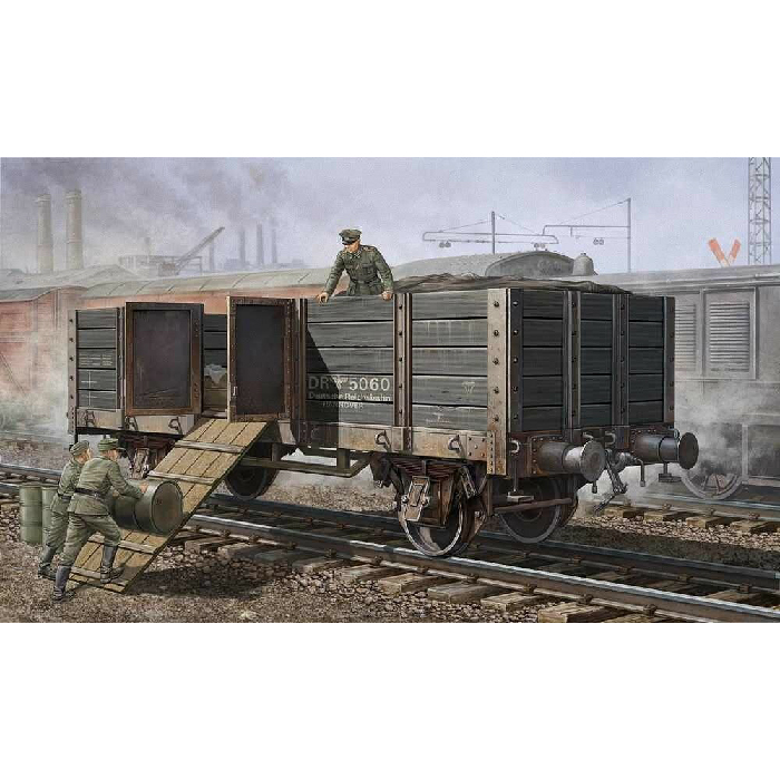 Trumpeter 1/35 Maket German Railway Gondola