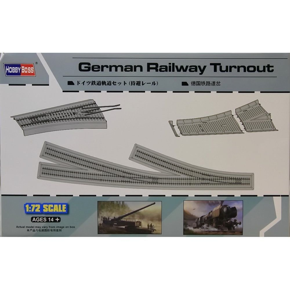 1/72 German Railway Turnout