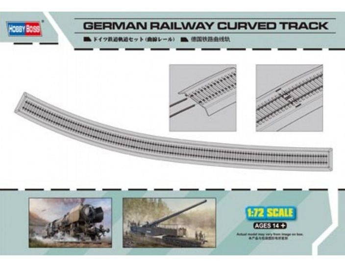 1/72 German Railway Curved Track