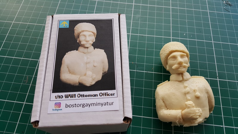 1/10 Scale WWI Ottoman Officer
