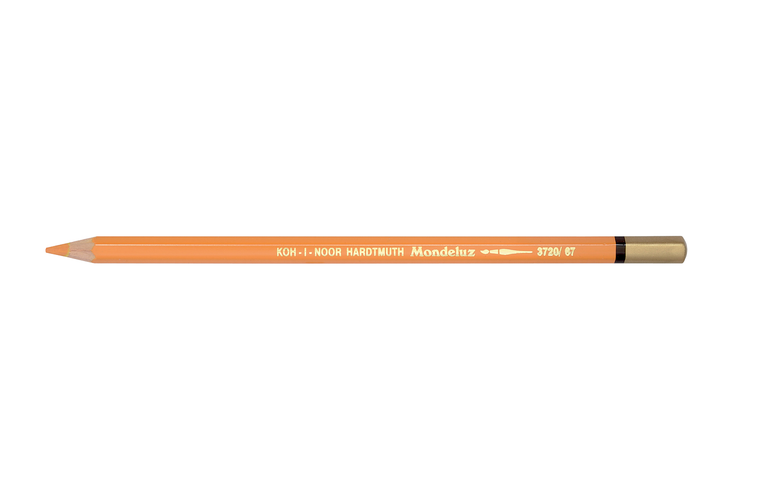 aquarell coloured pencil 3720 yellowish orange