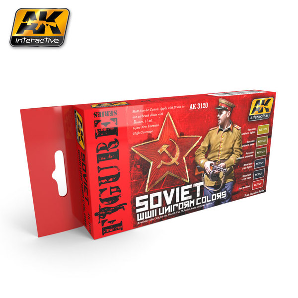 Soviet WWII Uniform Colors Boyama Seti