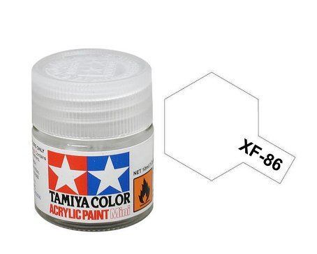 Acrylic Mini XF-86 Flat Clear 10ml.
