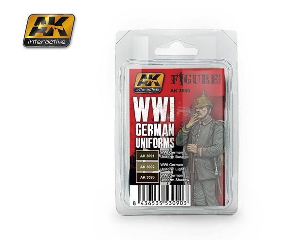 WWI German Uniforms Set