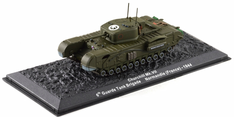 Churchill MK VII 6th Guards Tank Brigade Normandy (France)-1944