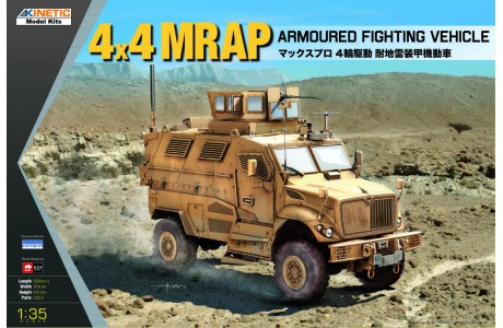 Kinetic 1/35 4x4 MRAP ARMOURED FIGHTING VEHICLE