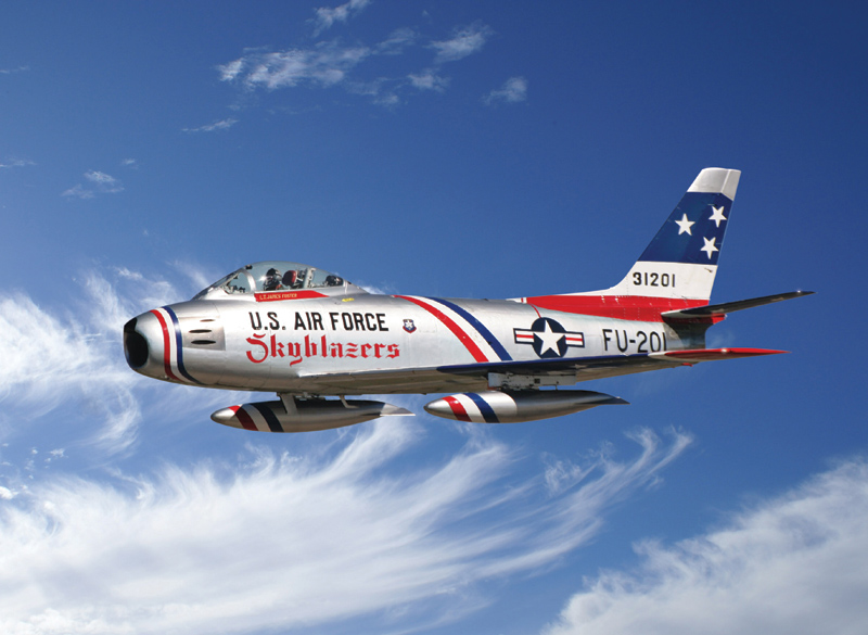 F-86F SKYBLAZER AEROBATIC TEAM