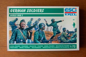 1/72 World War Two German Soldiers