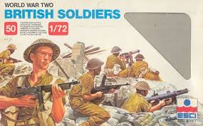 1/72 World War II British Soldiers
