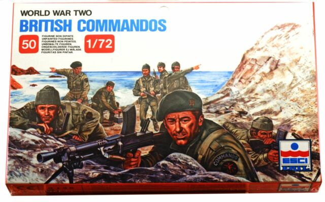 1/72  World War Two British Commandos