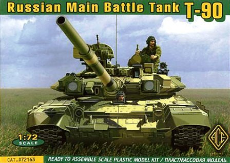 Ace 1/72 Maket Russian Main Battle Tank T-90