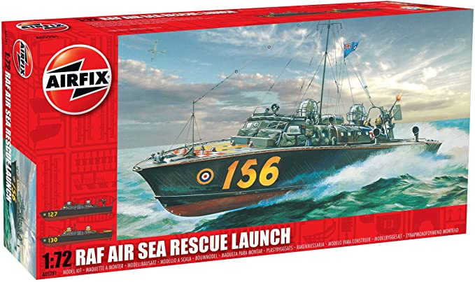 Airfix 1/72 Maket RAF RESCUE LAUNCH