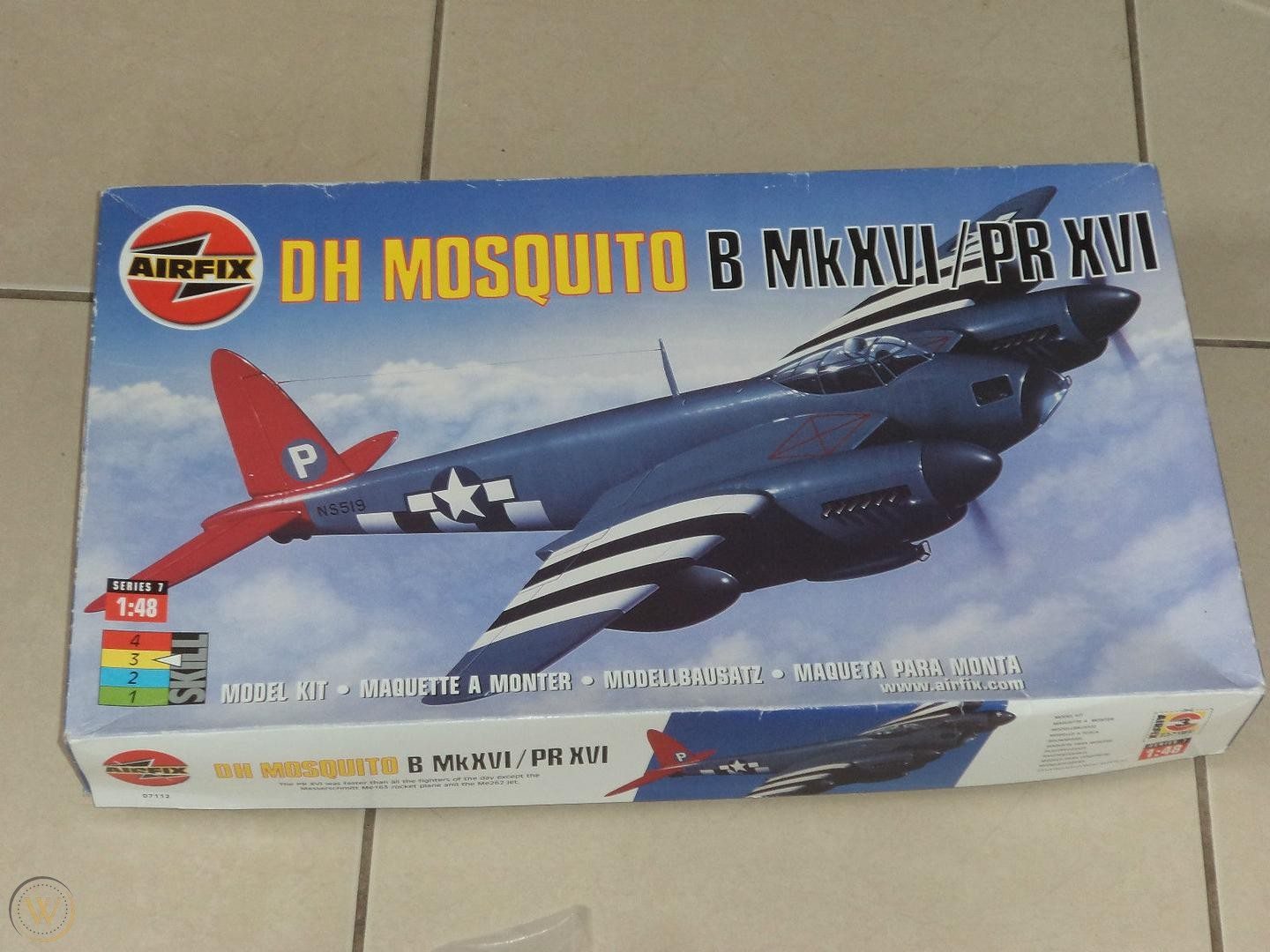 Airfix 1/48 D H MOSQUITO B MKXV1