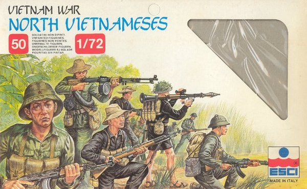 ESCI 1/72 Maket NORTH VIETNAMESE