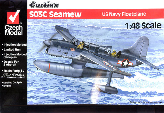 Czech Model 1/48 Model Curtiss SO3C Seamew