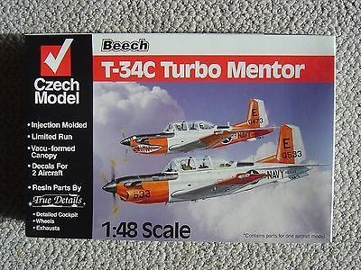 Czech Model 1/48 Maket Beechcraft T-34C Turbo Mentor