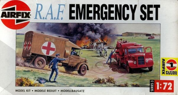 Airfix 1/72 Model Royal Air Force Emergency Set
