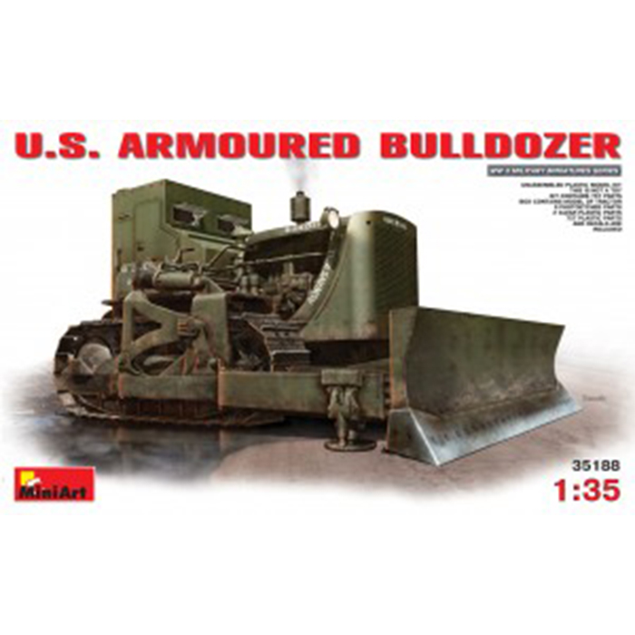 Miniart 1/35 Model U.S. Armoured Bulldozer