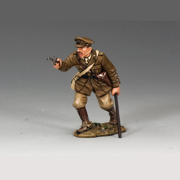 Officer with Pistol (British)