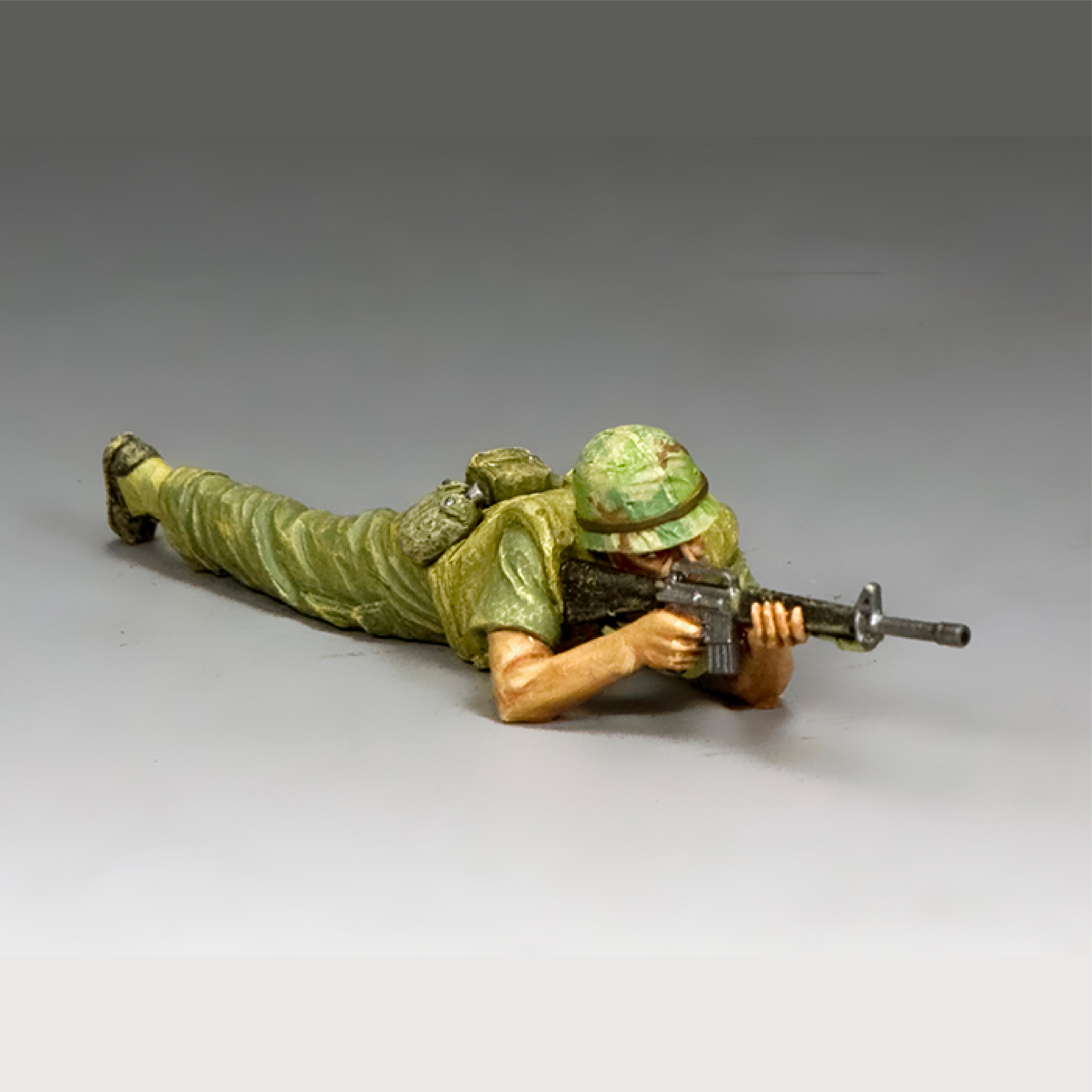 Marine Lying Prone Firing