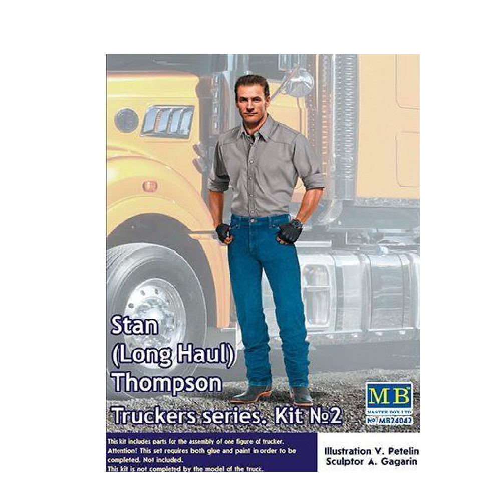 Truckers Series Stan Long Haul Thompson