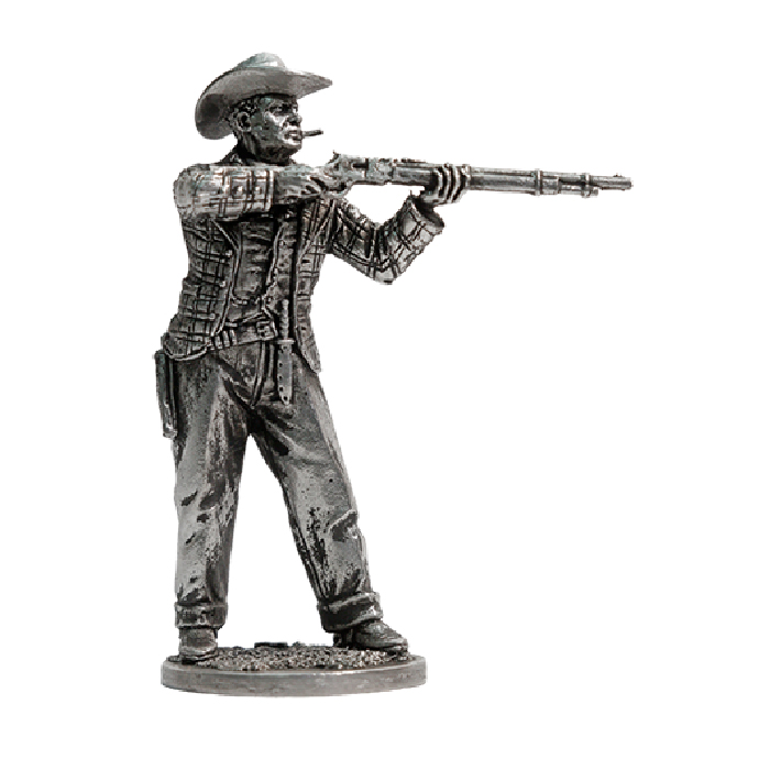 Cowboy with a rifle